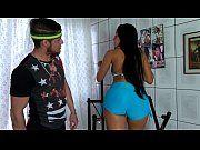 Morena sarada dando cu pro seu personal trainer